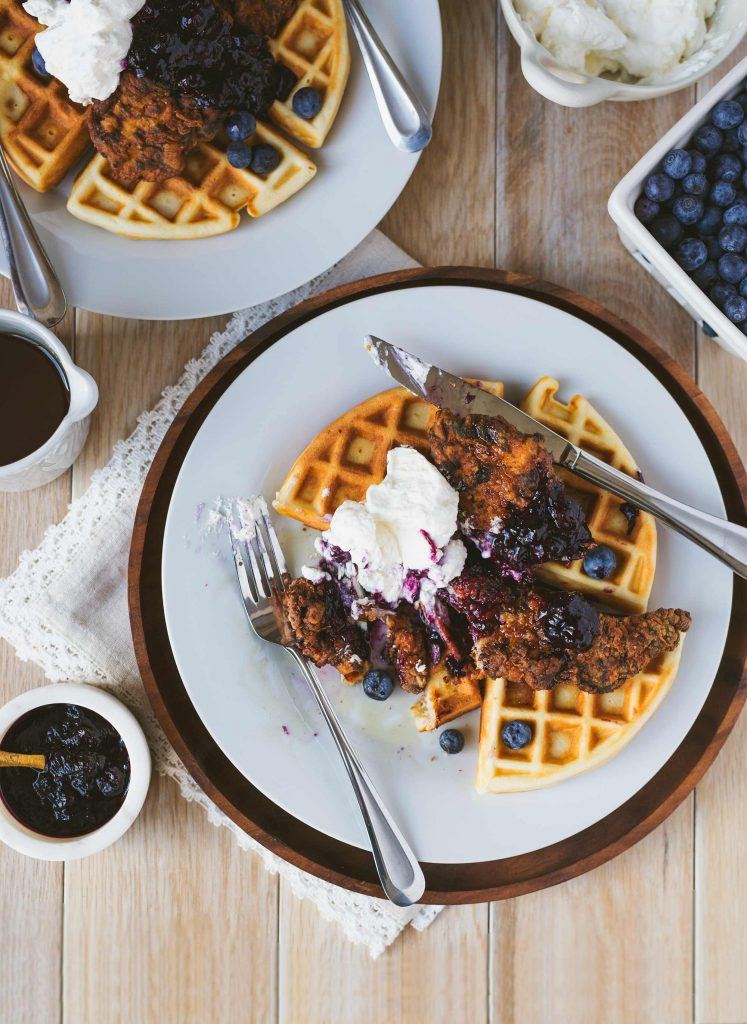 Syrup Sensations Chicken Amp Buttermilk Waffles With