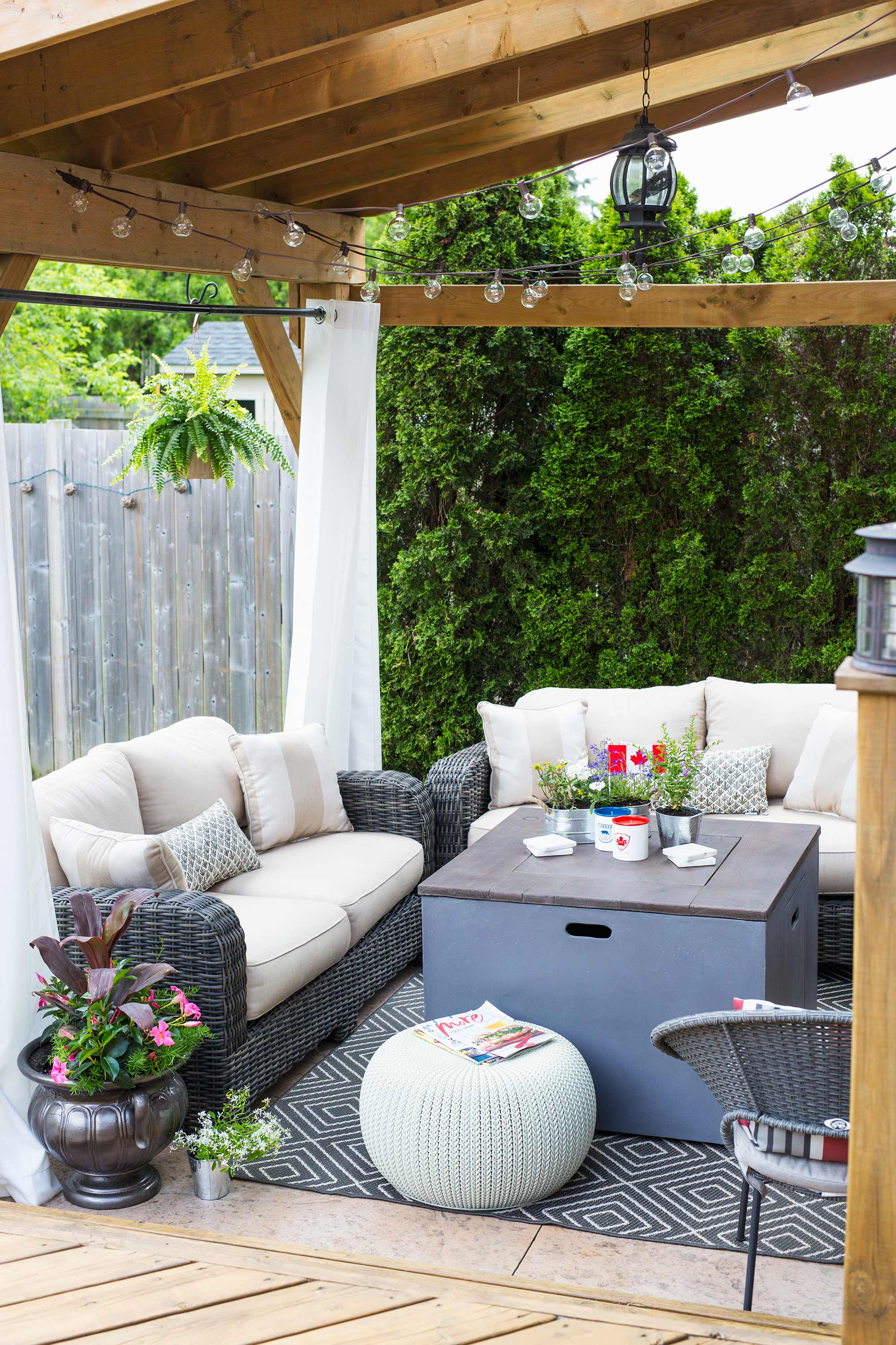 how to throw a canada day party decorate your space brittany stager