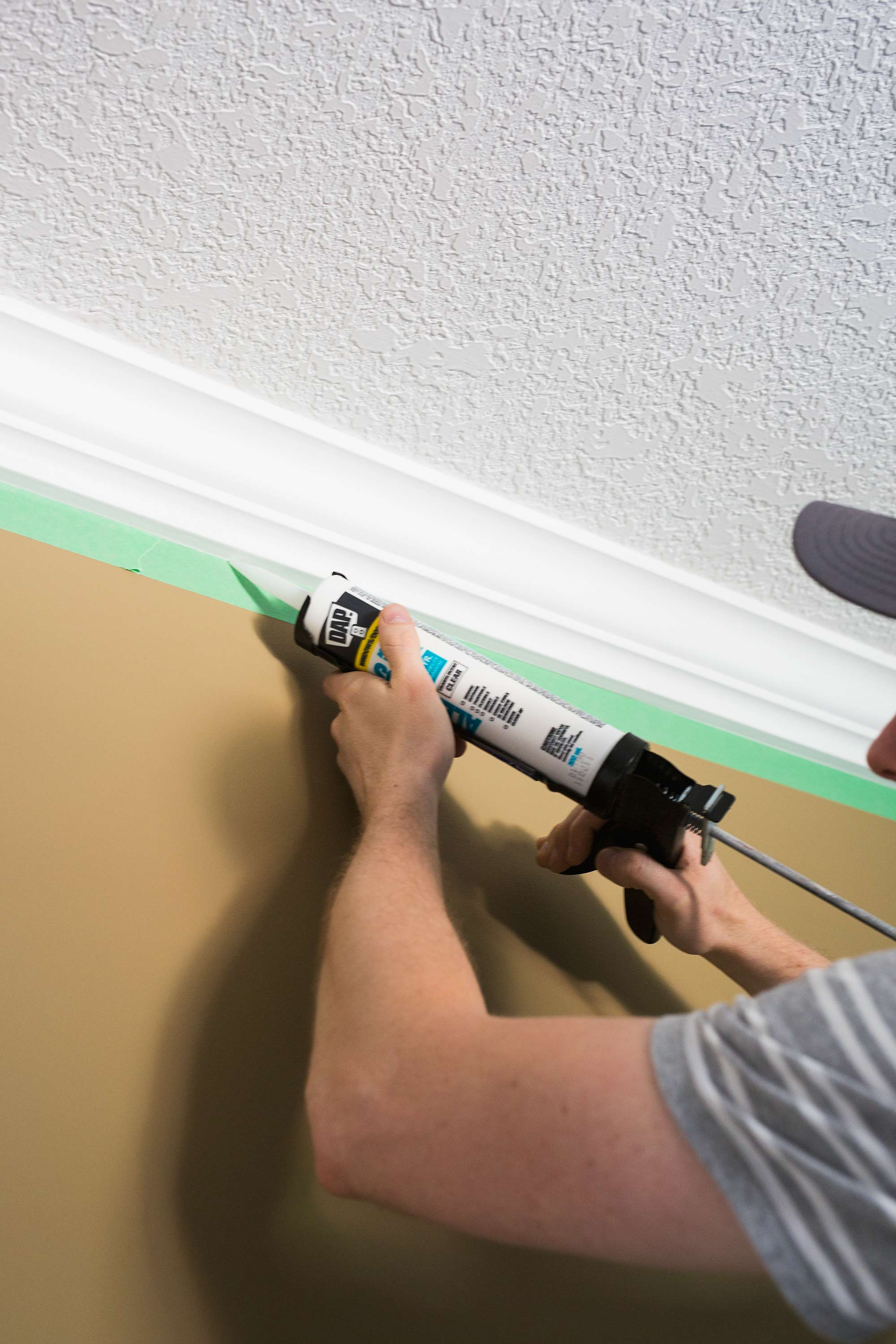 Installing Crown Moulding In Our Master Bedroom • Brittany Stager