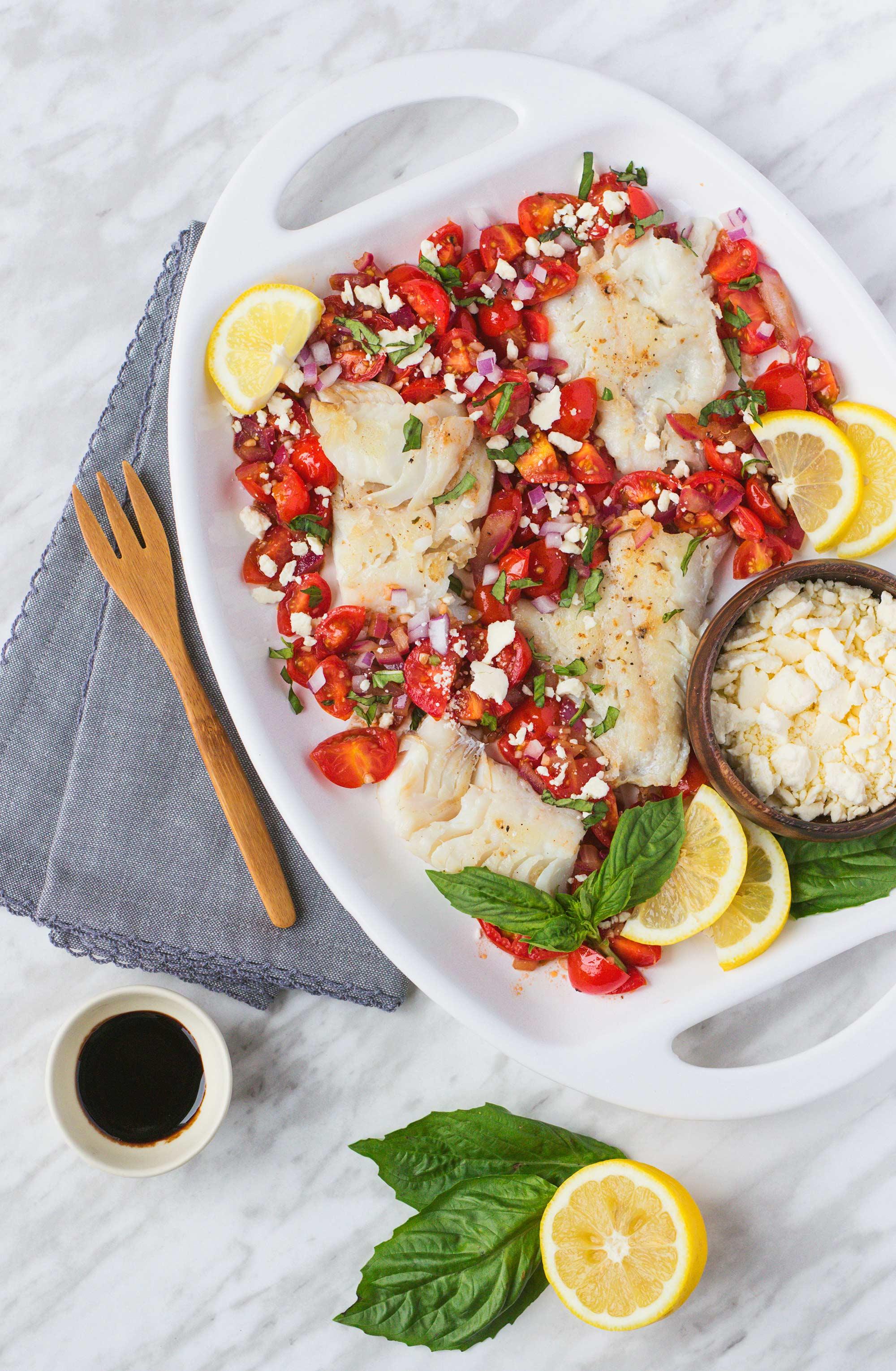 Greta Podleski's Mediterranean Fish Dish