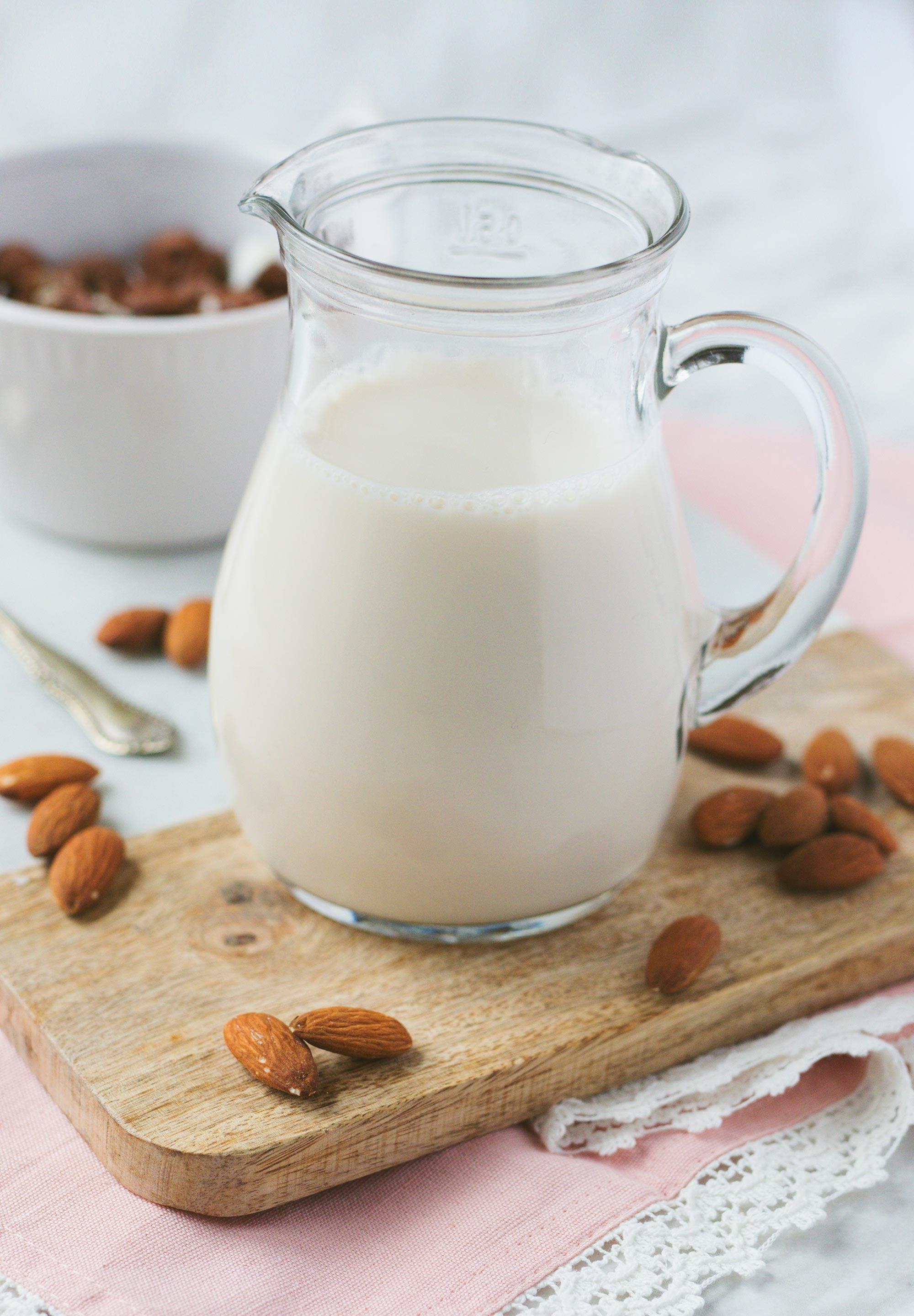 Yum & Yummer Homemade Almond Milk Recipe