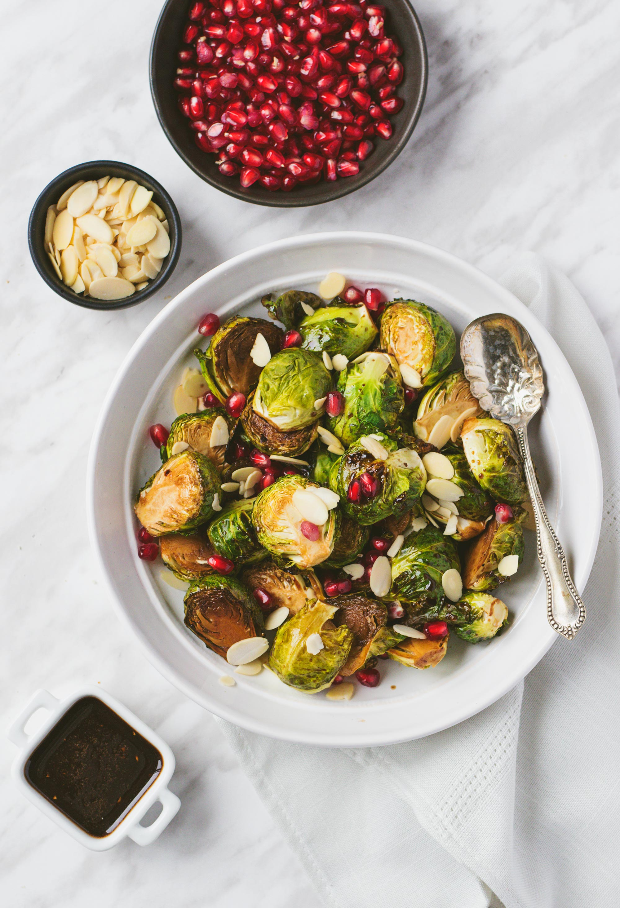 Yum & Yummer Maple Roasted Brussels Sprouts