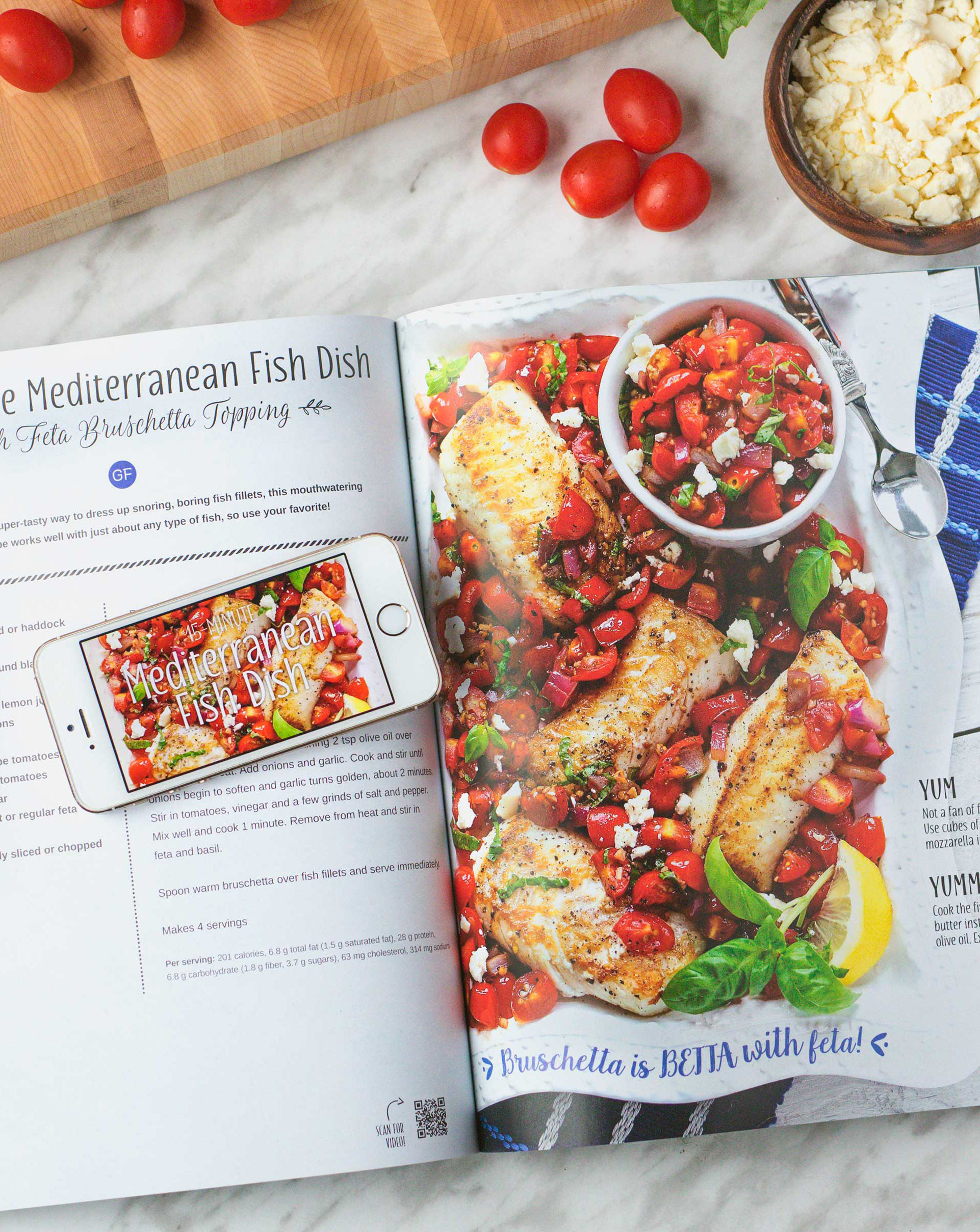 Mediterranean Fish Dish in Yum and Yummer