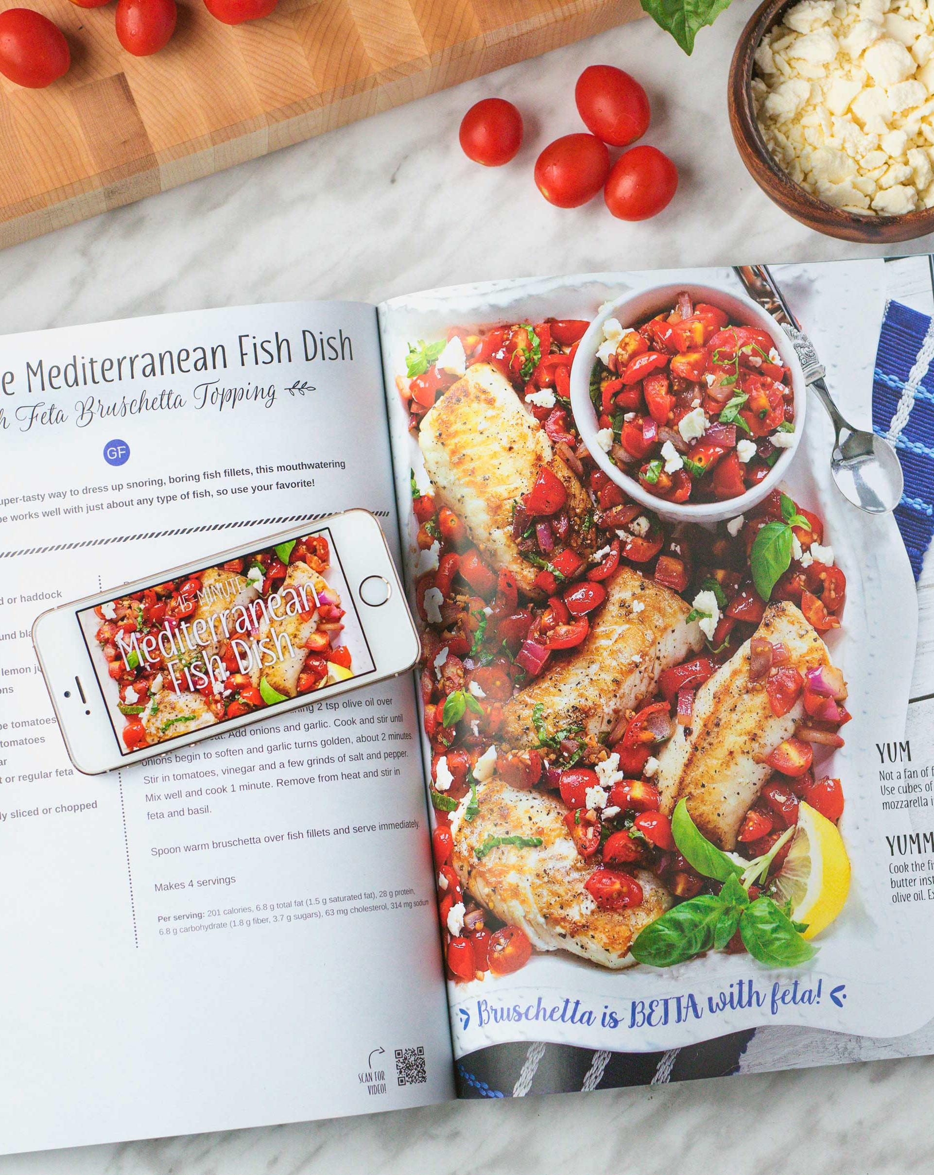 Mediterranean Fish Dish in Yum and Yummer