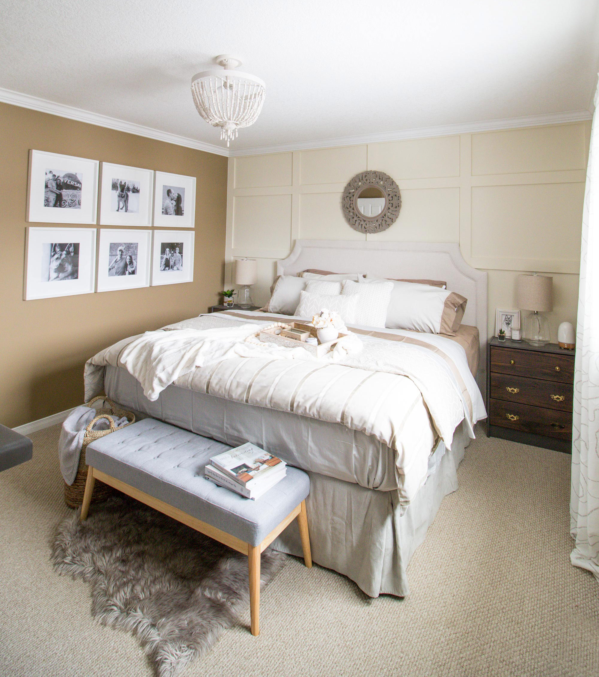 master bedroom reveal • brittany stager