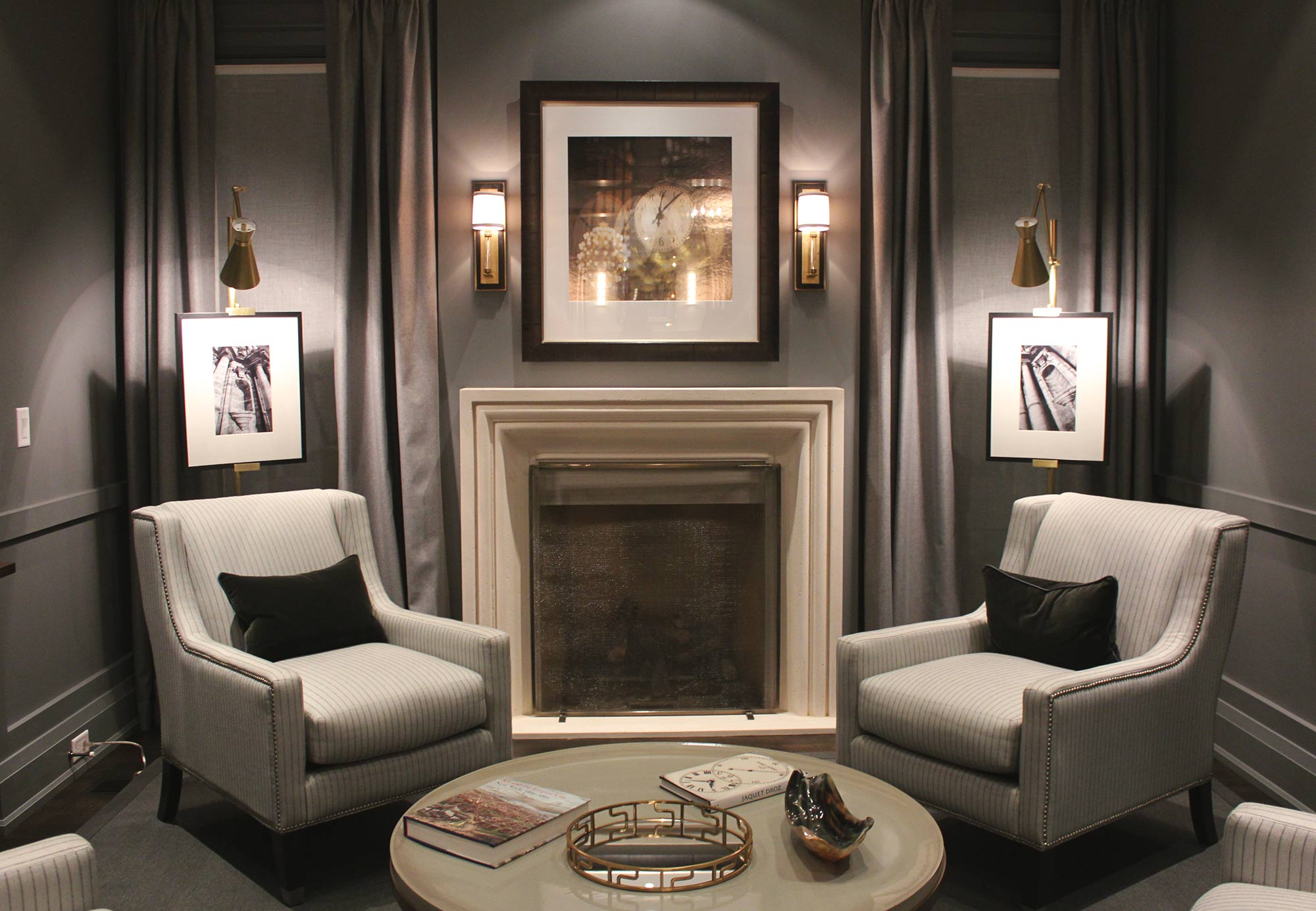 Example of Decorative Lighting at Oakville Dream Home
