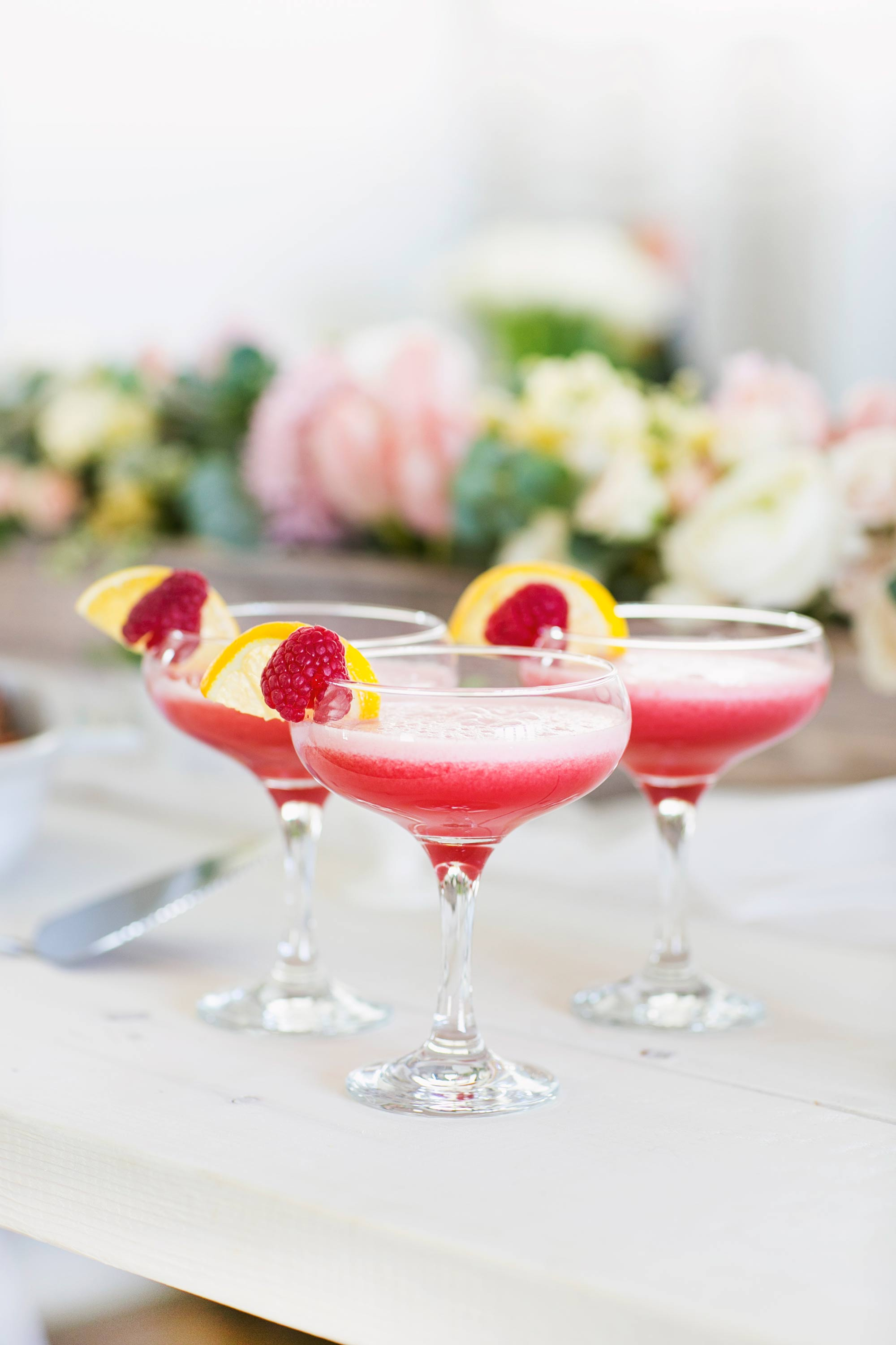 Mother's Day Clover Club Cocktail