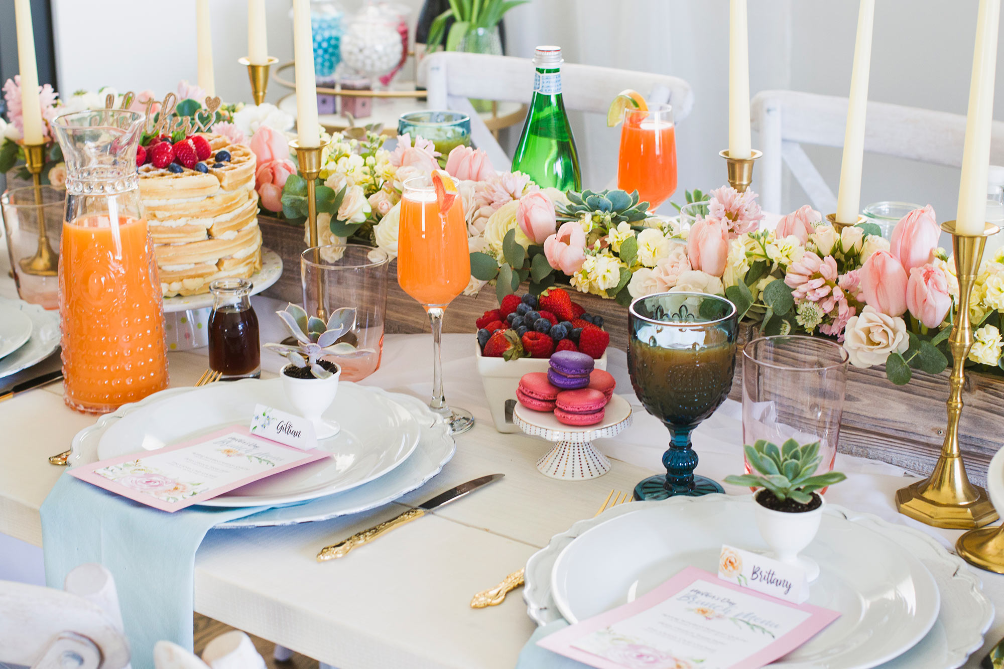 Pick a Theme and Colour Palette for Your Mother's Day Brunch