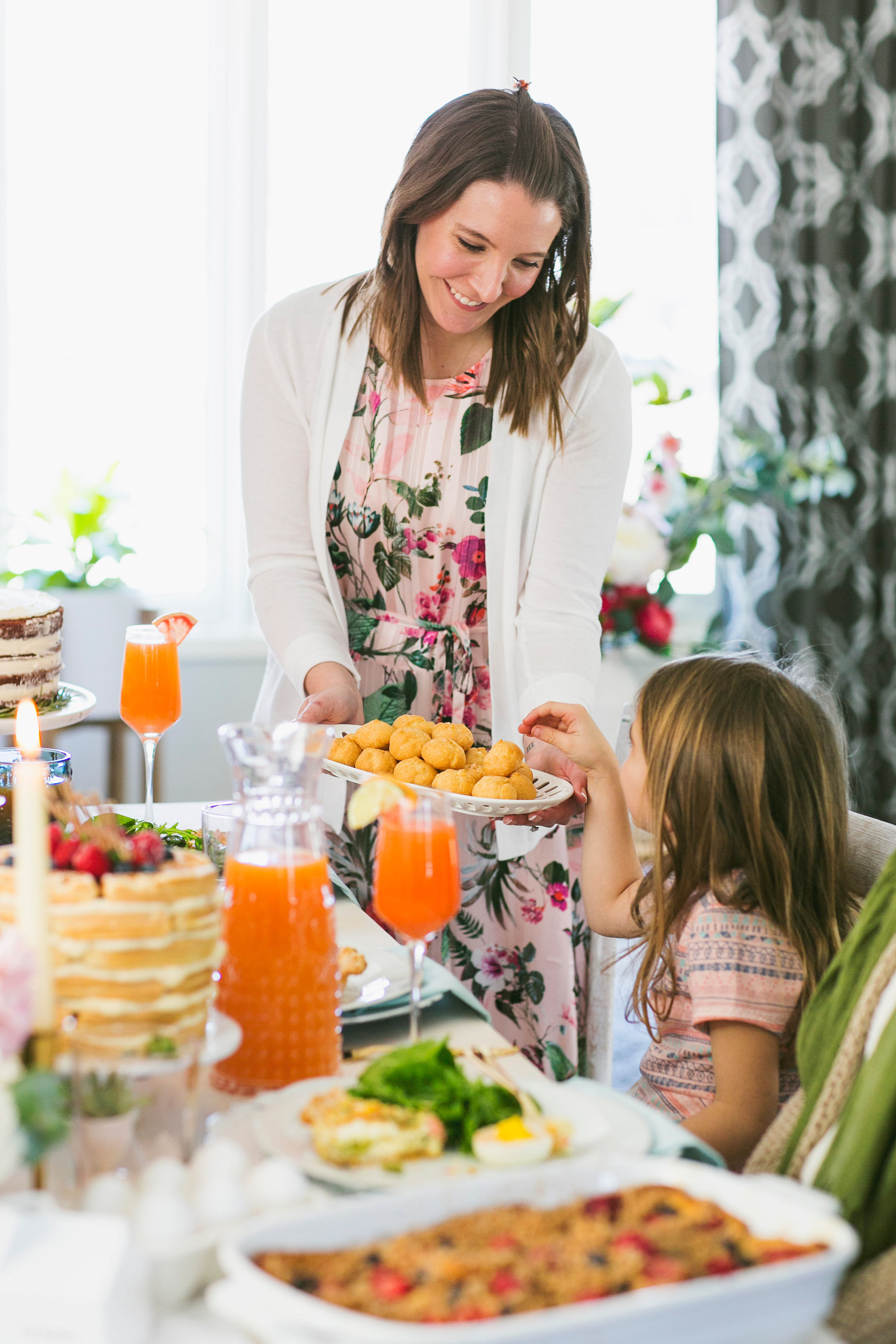 Invite the Kids to Your Mother's Day Brunch