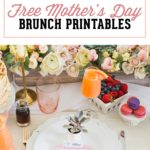 Free Mother's Day Brunch Printables