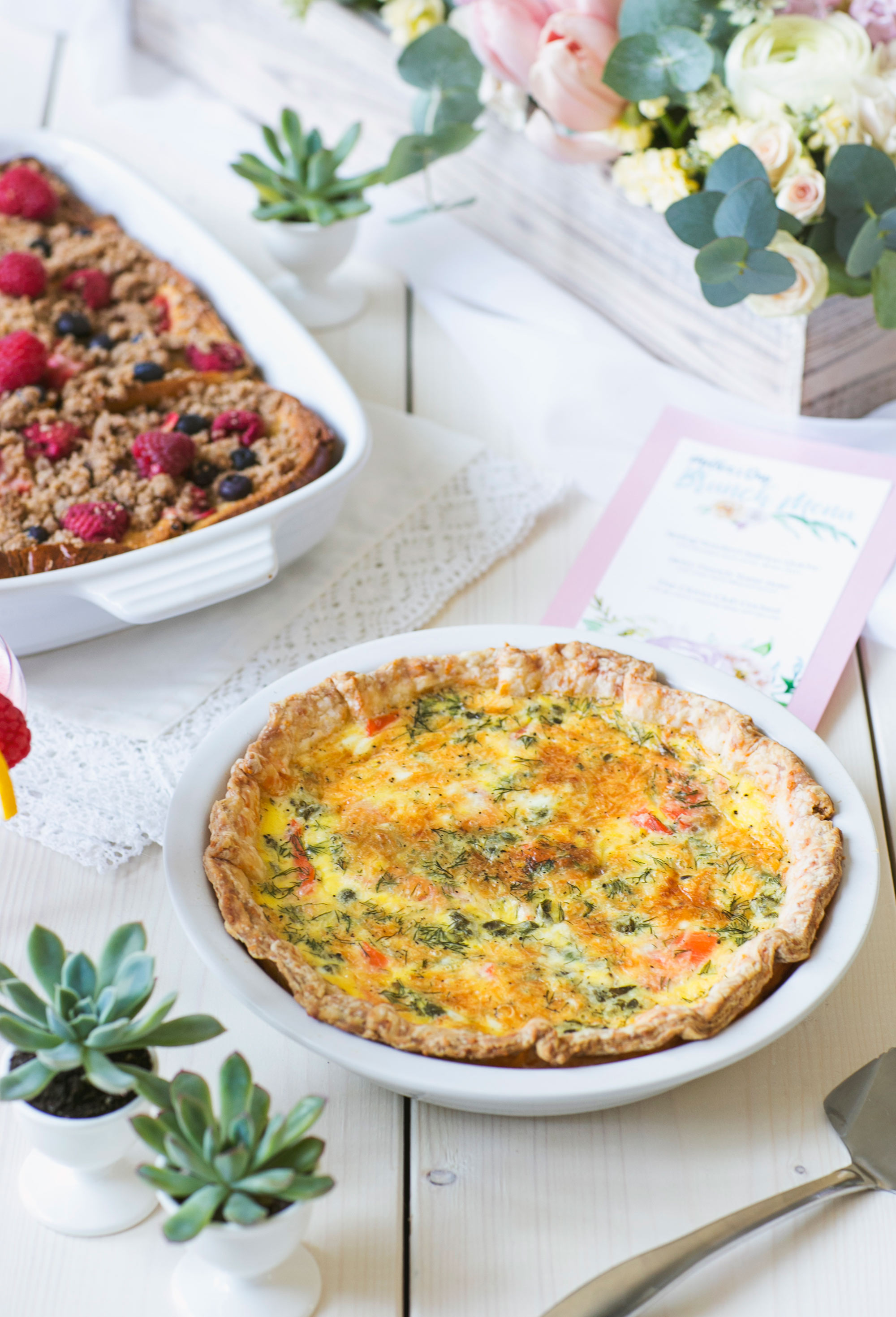 Mother's Day Recipes with Eggs