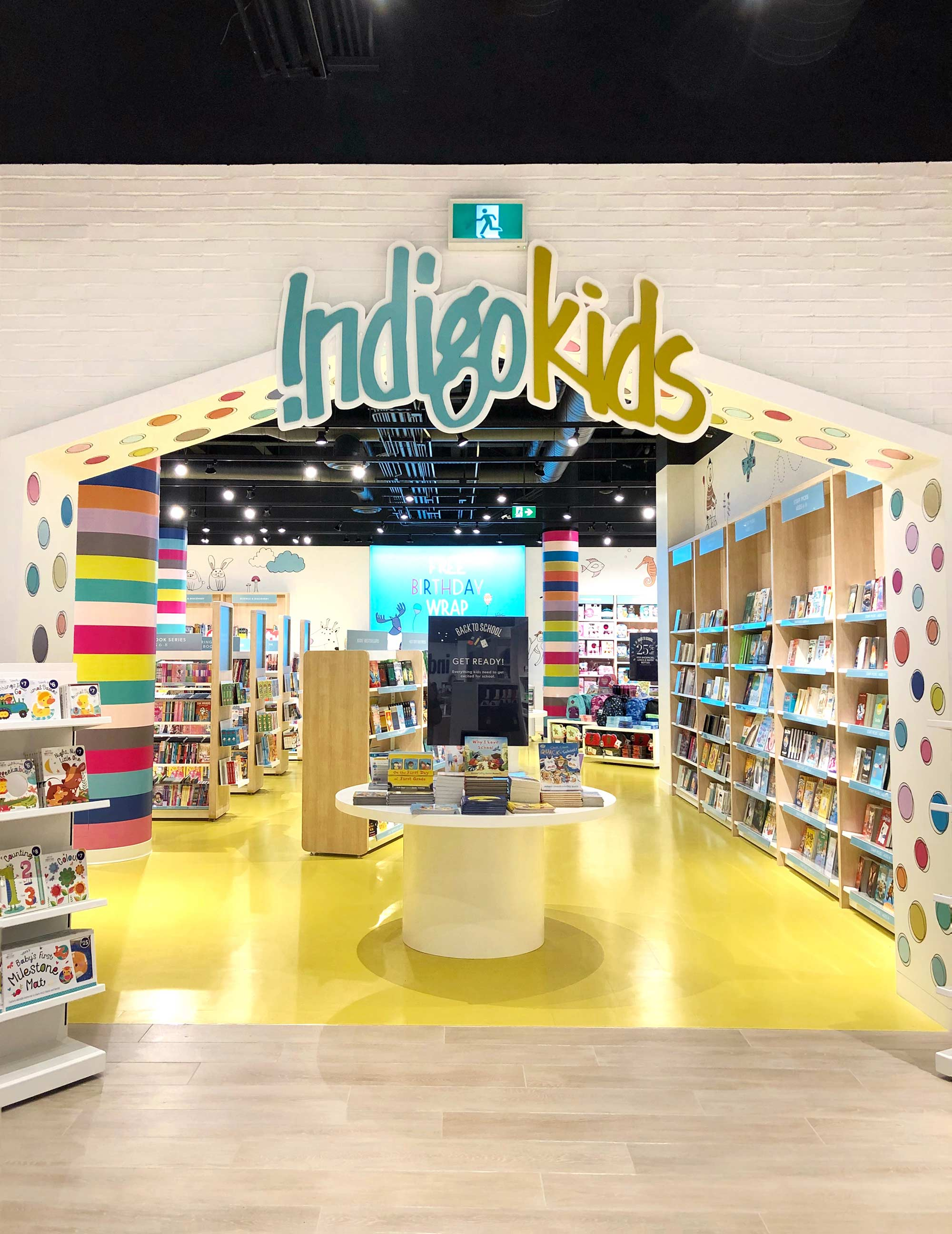 The IndigoKids Section at the new Kitchener Indigo