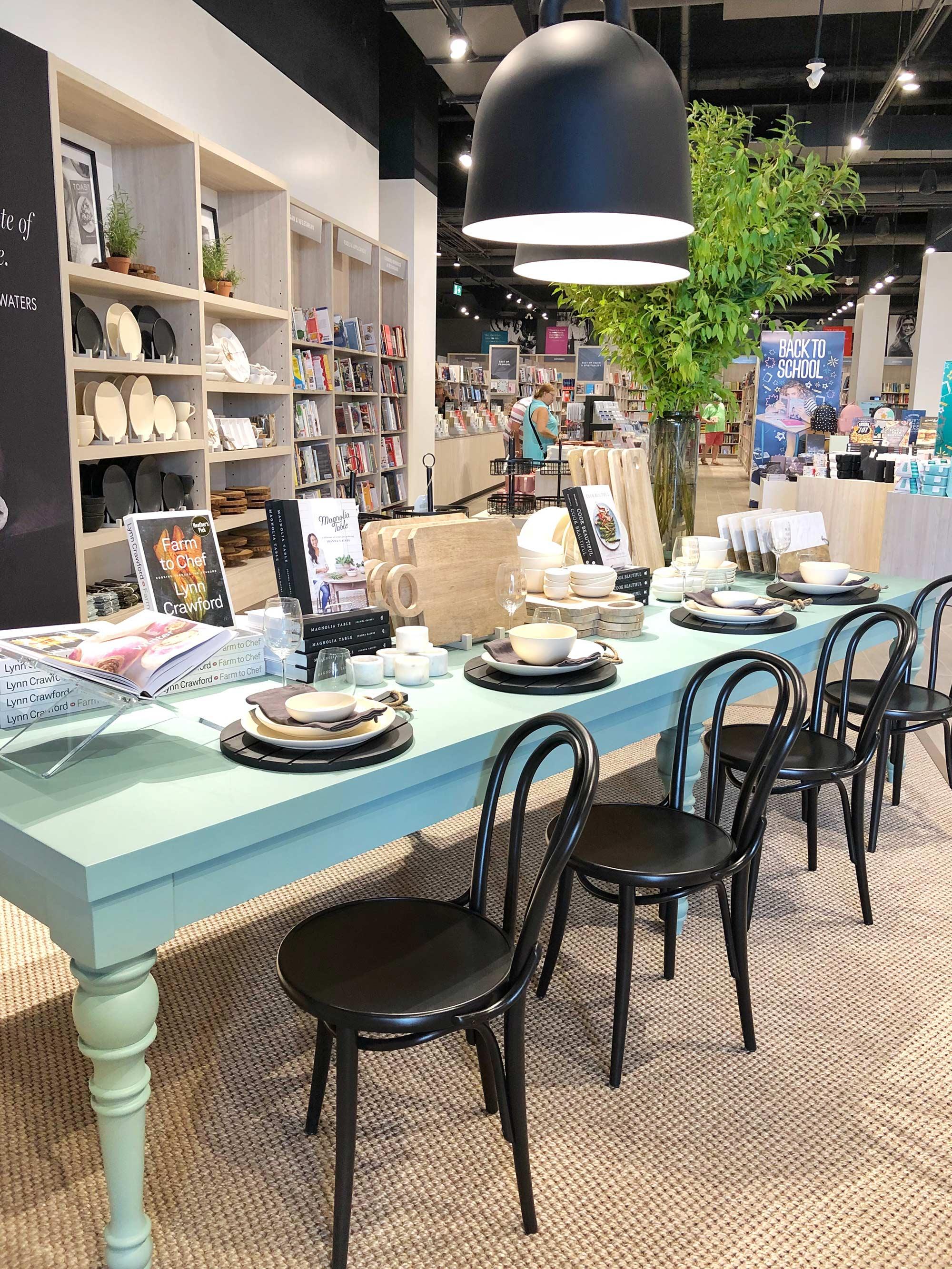 Indigo Kitchener Cookbook and Kitchenware Section