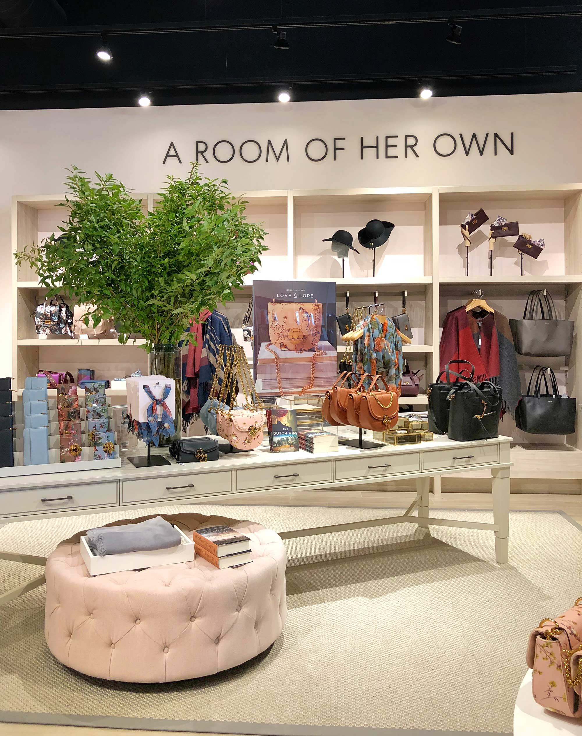 A Room For Her Accessories Section at Kitchener Indigo