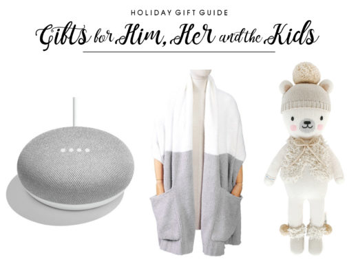 2018 Holiday Gift Guides for Him, Her and the Kids