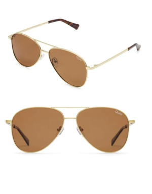 Quay Australia Classic Lightweight Aviator Sunglasses