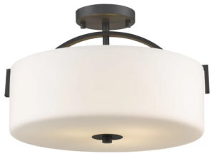 Merkley 3-Light Semi Flush Mount