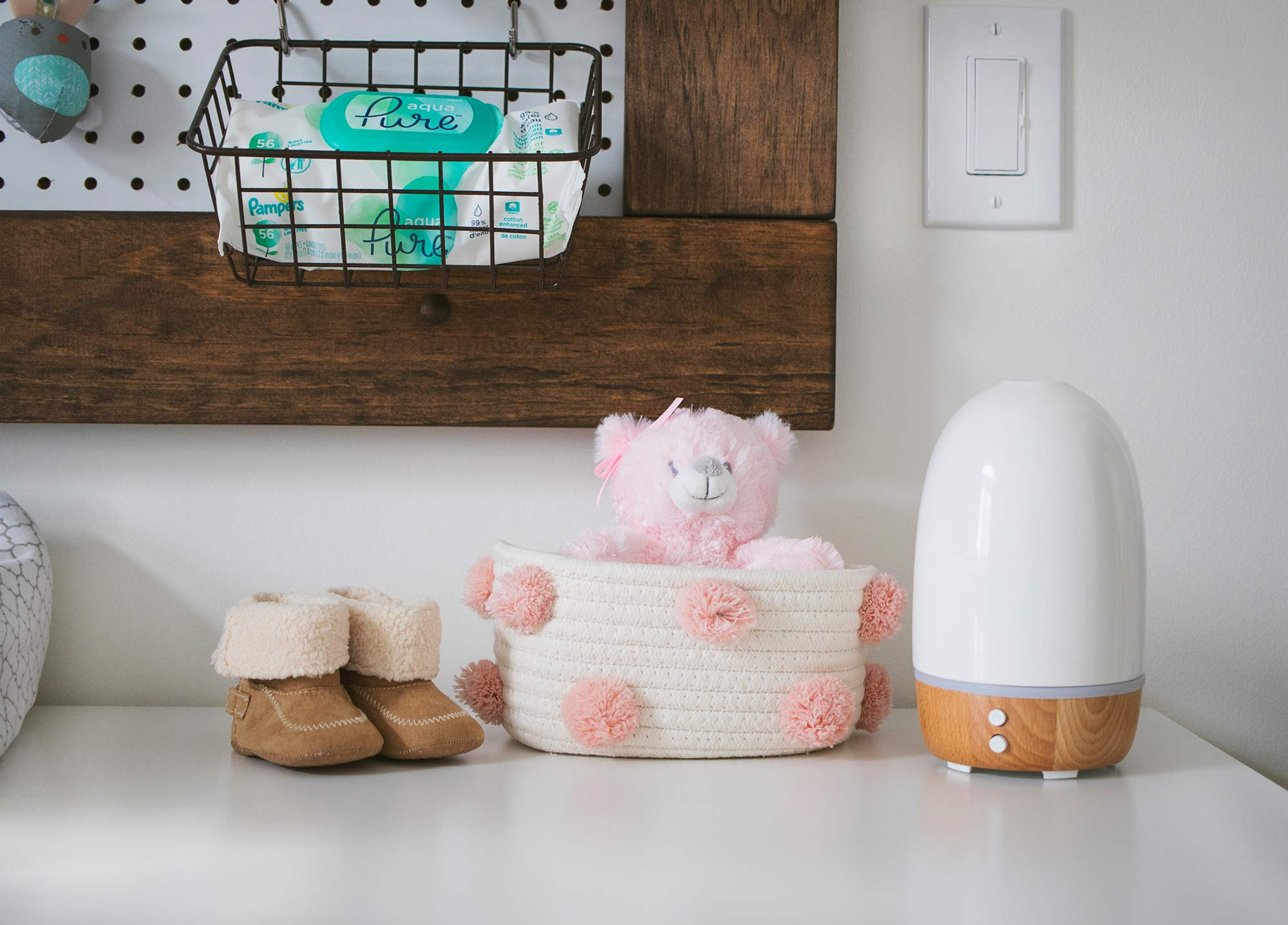 Baby Girl Nursery Details