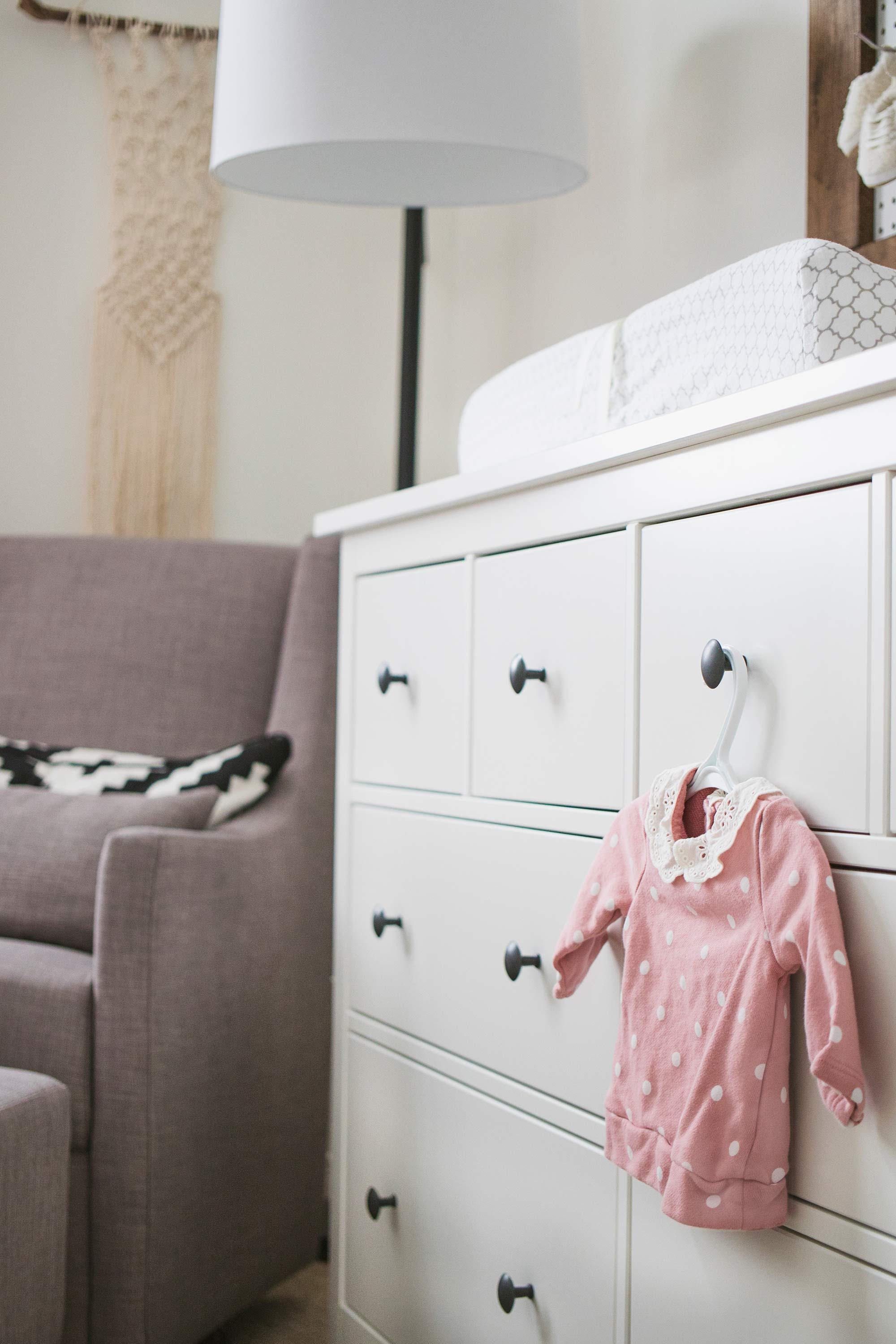 Baby Girl Nursery Ikea Dresser