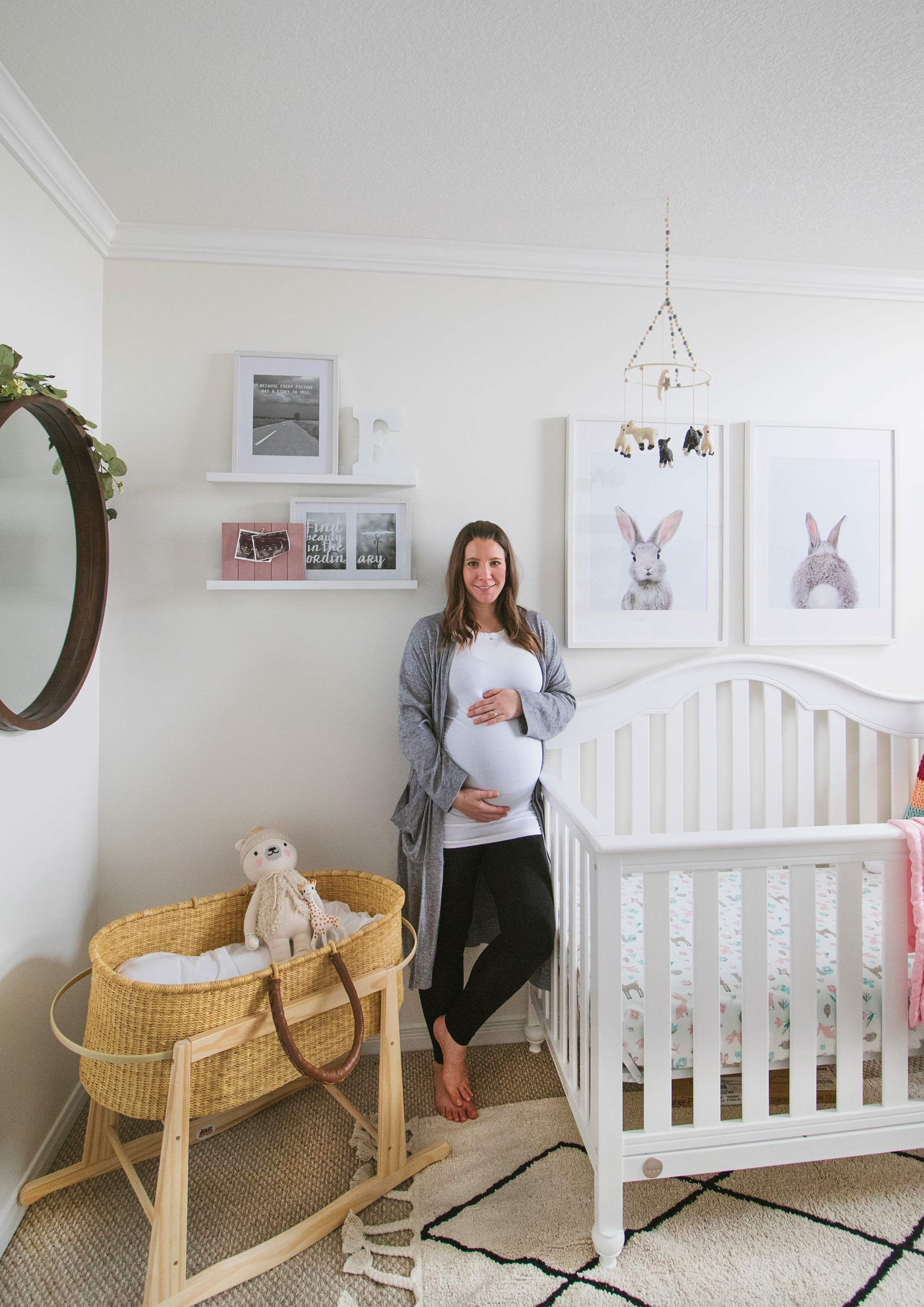 Brittany Stager Baby Girl Nursery Reveal