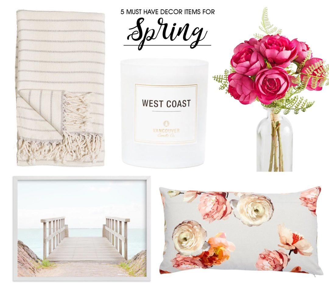 5 Must-Have Spring Decor Items