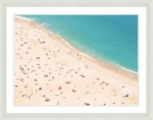 Beach Scene Framed Wall Art