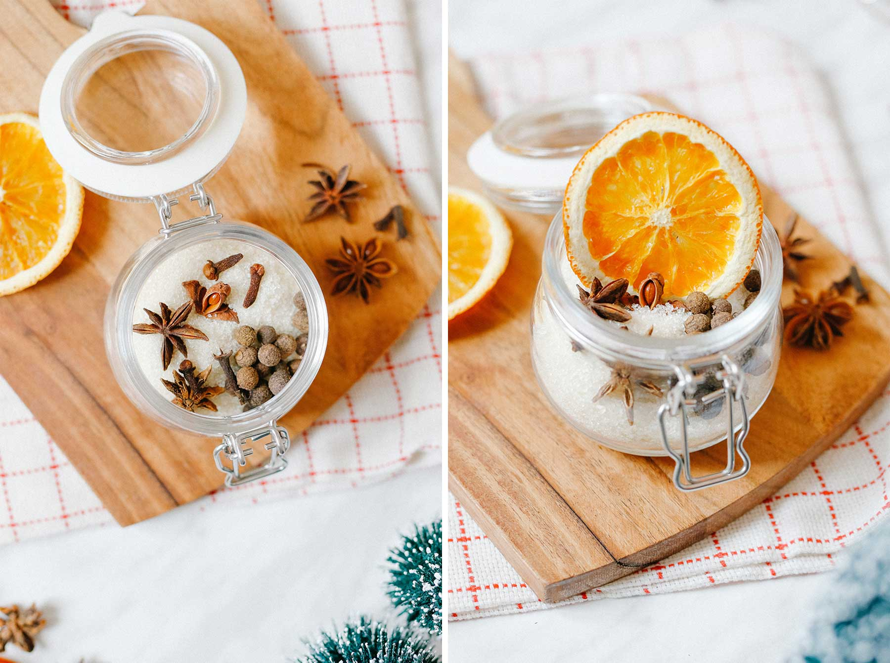 DIY Merry Mulled WIne Spice Jar