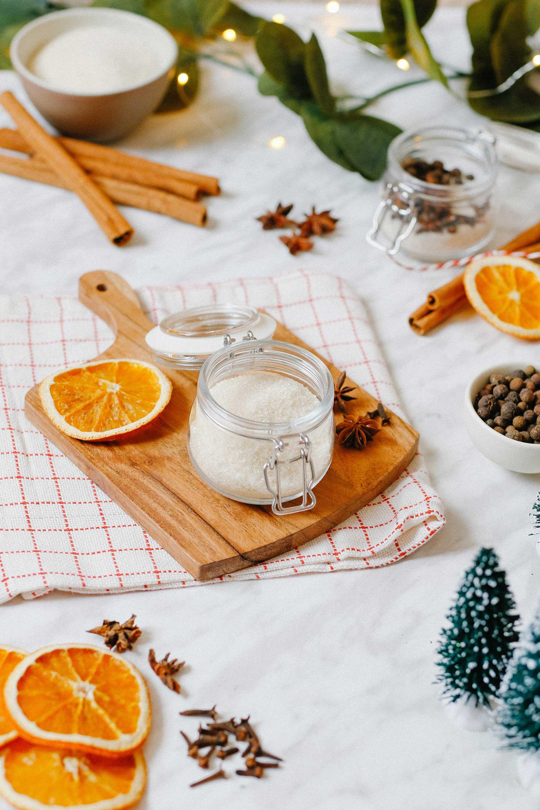 DIY Mulled WIne Spice Jar