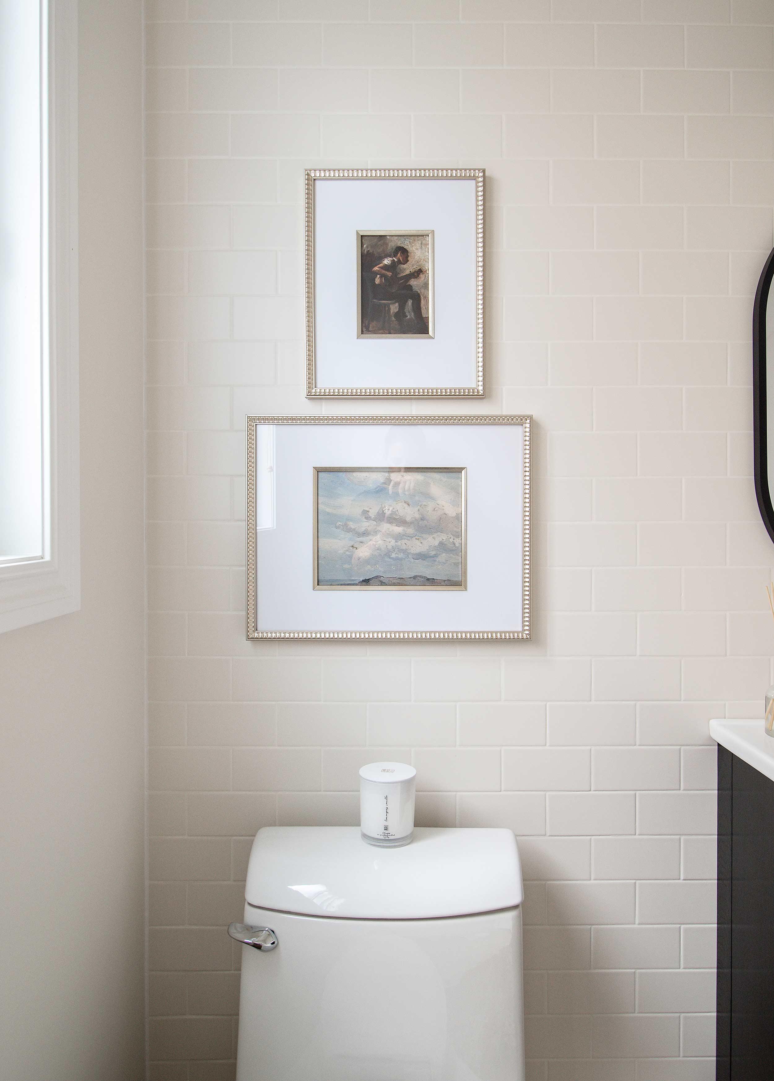 Modern Farmhouse Bathroom Artwork